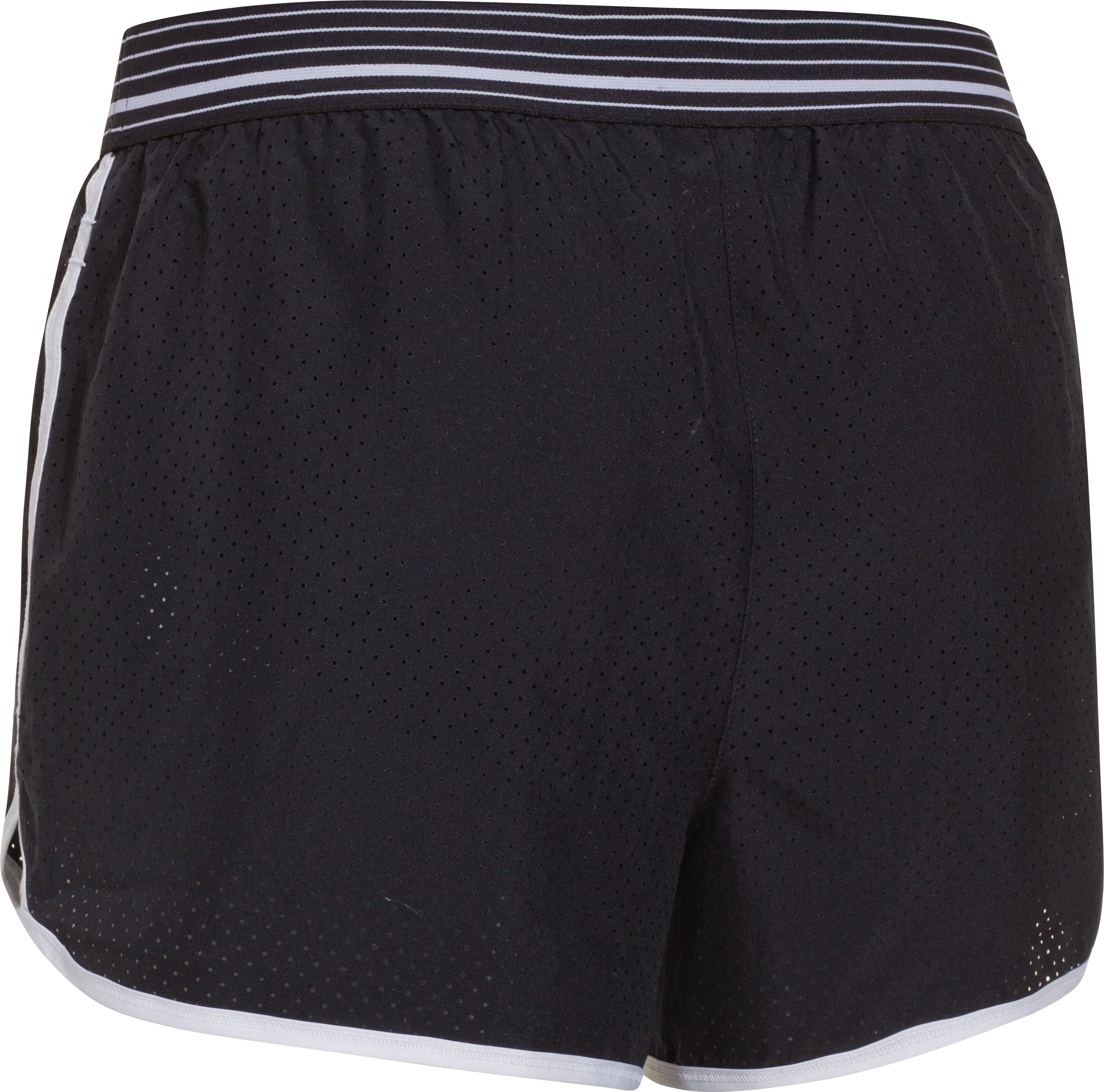 Women's UA Perfect Pace Short, Black , undefined