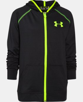 Boys' UA Combine® Training Slub Fleece Hoodie  1 Color $35.99