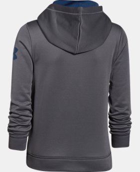 Boys' Armour® Fleece Word Hoodie LIMITED TIME: FREE U.S. SHIPPING 1 Color $33.99