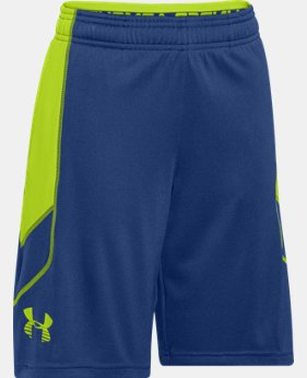 Boys' UA Tech™ Patterned Shorts LIMITED TIME: FREE U.S. SHIPPING  $17.24