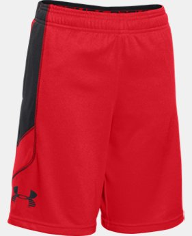 Boys' UA Tech™ Patterned Shorts LIMITED TIME: FREE U.S. SHIPPING 1 Color $17.24 to $22.99