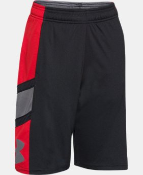 Boys' UA Crossover Basketball Shorts  2 Colors $21.99 to $22.99