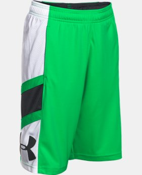 Boys' UA Crossover Basketball Shorts   $21.99