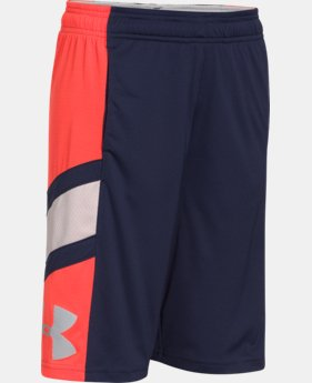 Boys' UA Crossover Basketball Shorts  1 Color $16.49 to $22.99