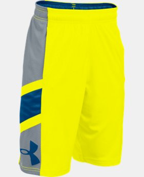 Boys' UA Crossover Basketball Shorts LIMITED TIME: UP TO 50% OFF 1 Color $21.99 to $22.99