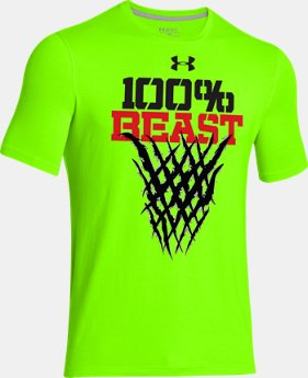 Boys' UA 100% Beast T-Shirt  1 Color $16.99
