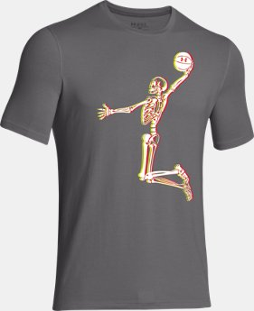 Boys' UA Skeleton Dunk T-Shirt  1 Color $17.99