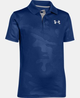 Boys' UA Match Play Printed Polo  1 Color $25.99 to $26.99