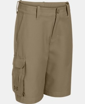 Boys' UA Utility Club Cargo Golf Shorts  1 Color $28.49