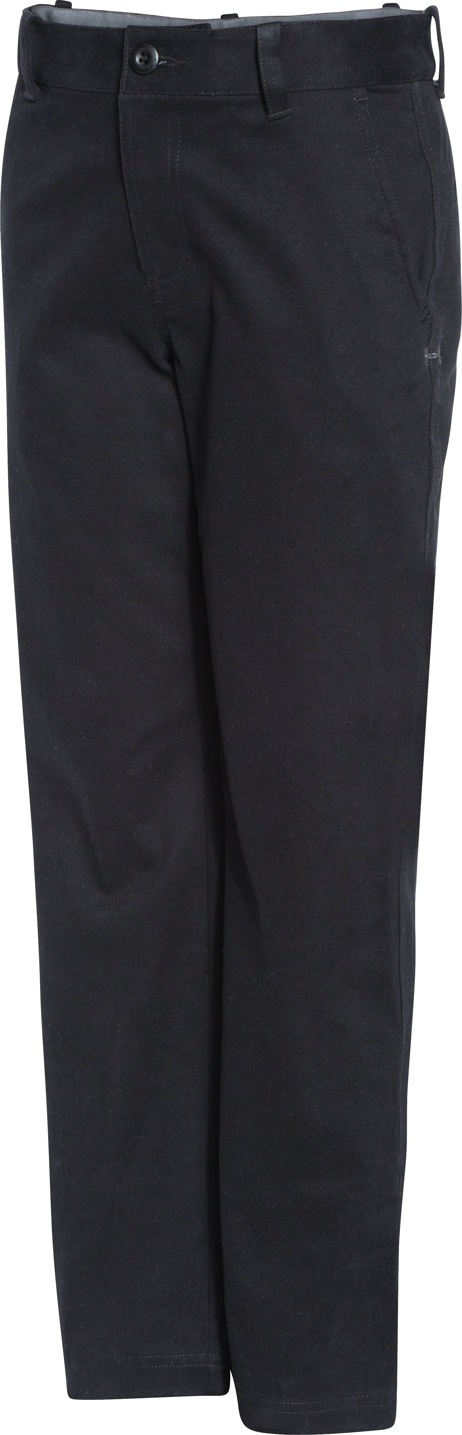 Boys' UA Utility Club Pants, Black , zoomed image