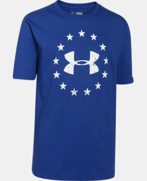 Boys' UA Freedom T-Shirt LIMITED TIME: FREE U.S. SHIPPING 2 Colors $17.99