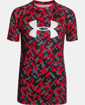 Boys' UA Tech™ Big Logo Printed T-Shirt  5 Colors $20.99