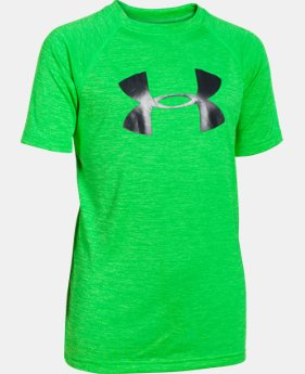Boys' UA Tech™ Big Logo Printed Short Sleeve T-Shirt  1 Color $14.99 to $19.99