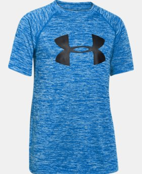 New Arrival Boys' UA Tech™ Big Logo Printed T-Shirt  4 Colors $18.99 to $24.99