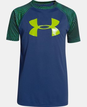 Best Seller Boys' UA Tech™ Big Logo Printed T-Shirt  2 Colors $14.24 to $24.99