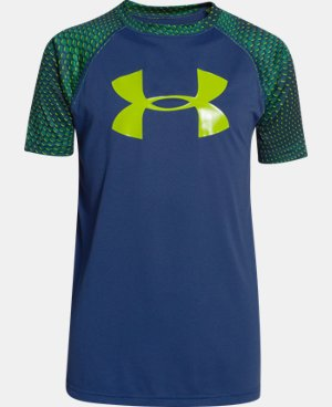 New Arrival Boys' UA Tech™ Big Logo Printed T-Shirt  5 Colors $18.99 to $24.99