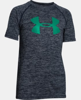 Boys' UA Tech™ Big Logo Printed T-Shirt LIMITED TIME: FREE U.S. SHIPPING  $18.99 to $24.99