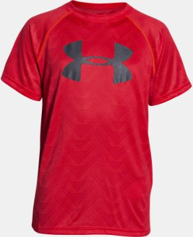 New Arrival Boys' UA Tech™ Big Logo Printed T-Shirt   $18.99 to $24.99