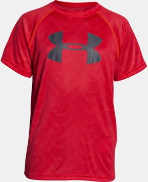 New Arrival Boys' UA Tech™ Big Logo Printed T-Shirt  1 Color $18.99 to $24.99