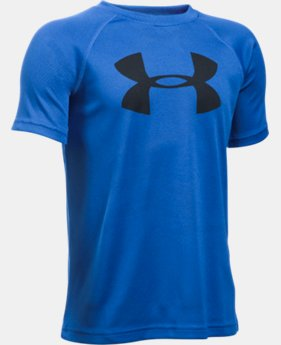 Boys' UA Tech™ Big Logo Printed Short Sleeve T-Shirt  1 Color $22.99