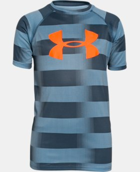 Boys' UA Tech™ Big Logo Printed T-Shirt  1 Color $18.99