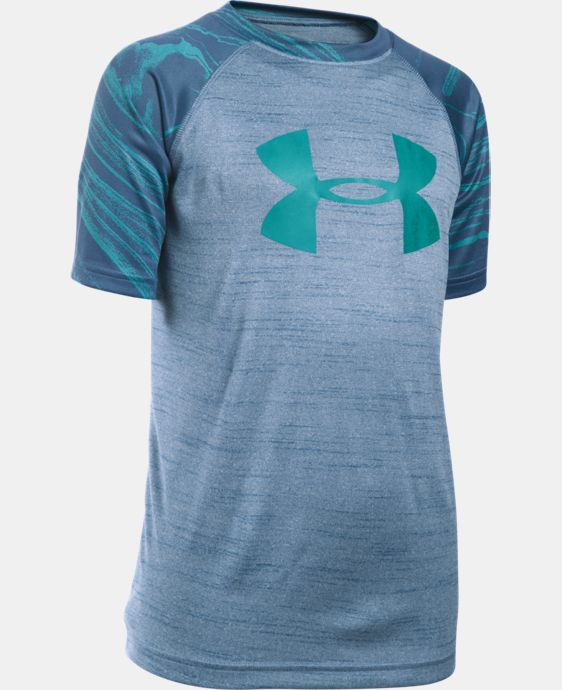 Boys' UA Tech™ Big Logo Printed T-Shirt LIMITED TIME: FREE SHIPPING 1 Color $20.99