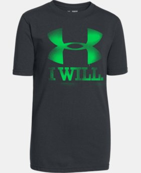 Boys' UA Contender T-Shirt  1 Color $14.99