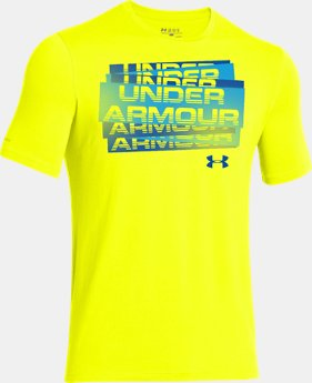 Boys' UA Scatter Script T-Shirt  1 Color $14.99
