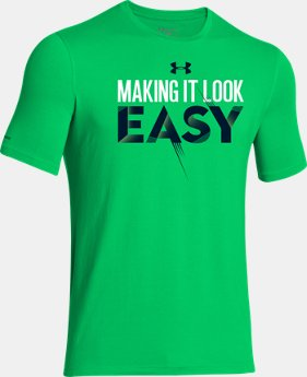 Boys' UA Make It Easy T-Shirt LIMITED TIME: FREE U.S. SHIPPING 2 Colors $14.99