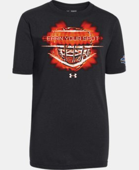 Boys' NFL Combine Authentic Earn Your Spot T-Shirt  1 Color $16.99