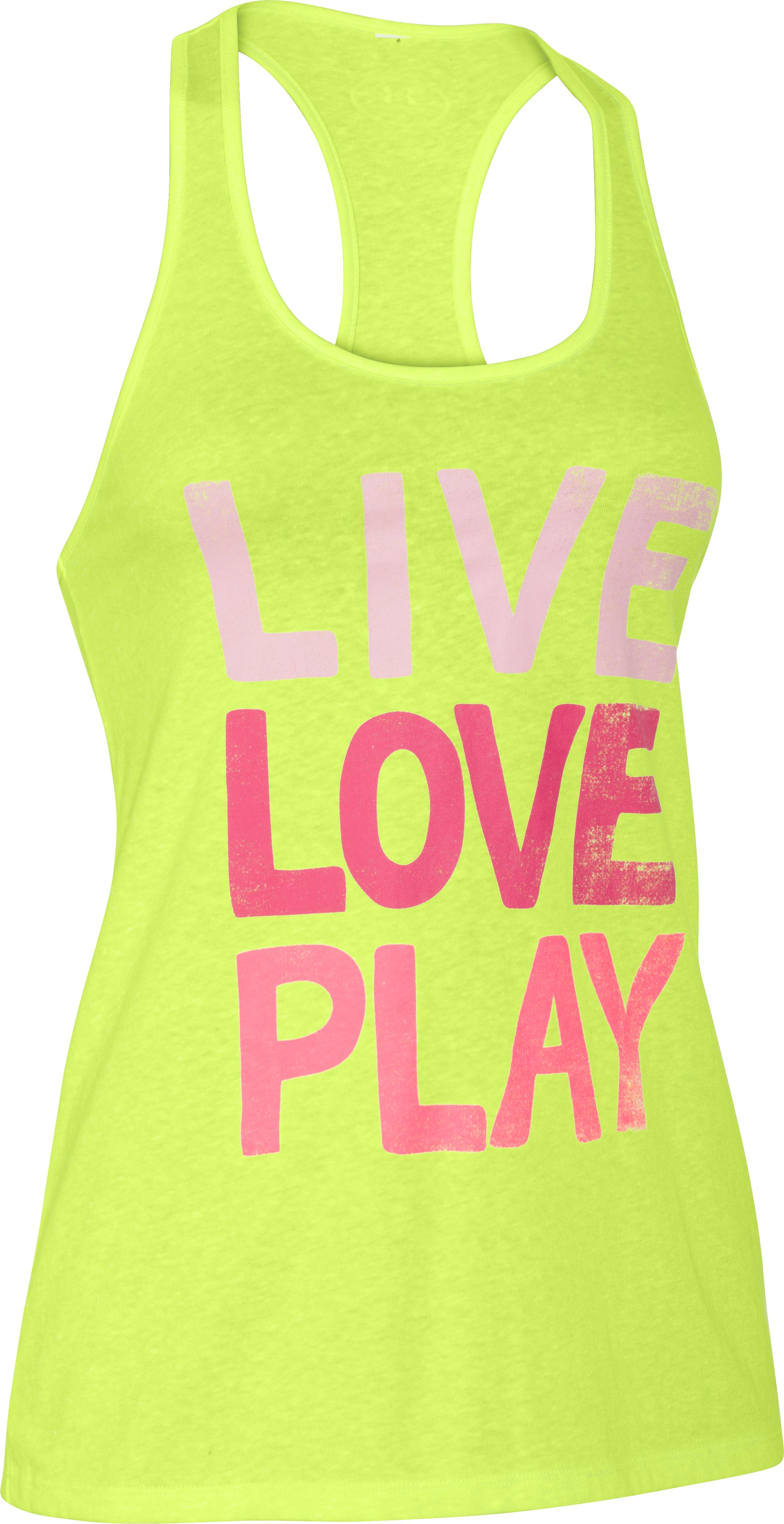 Women's UA Live Love Play Tennis Tank, X-Ray, undefined