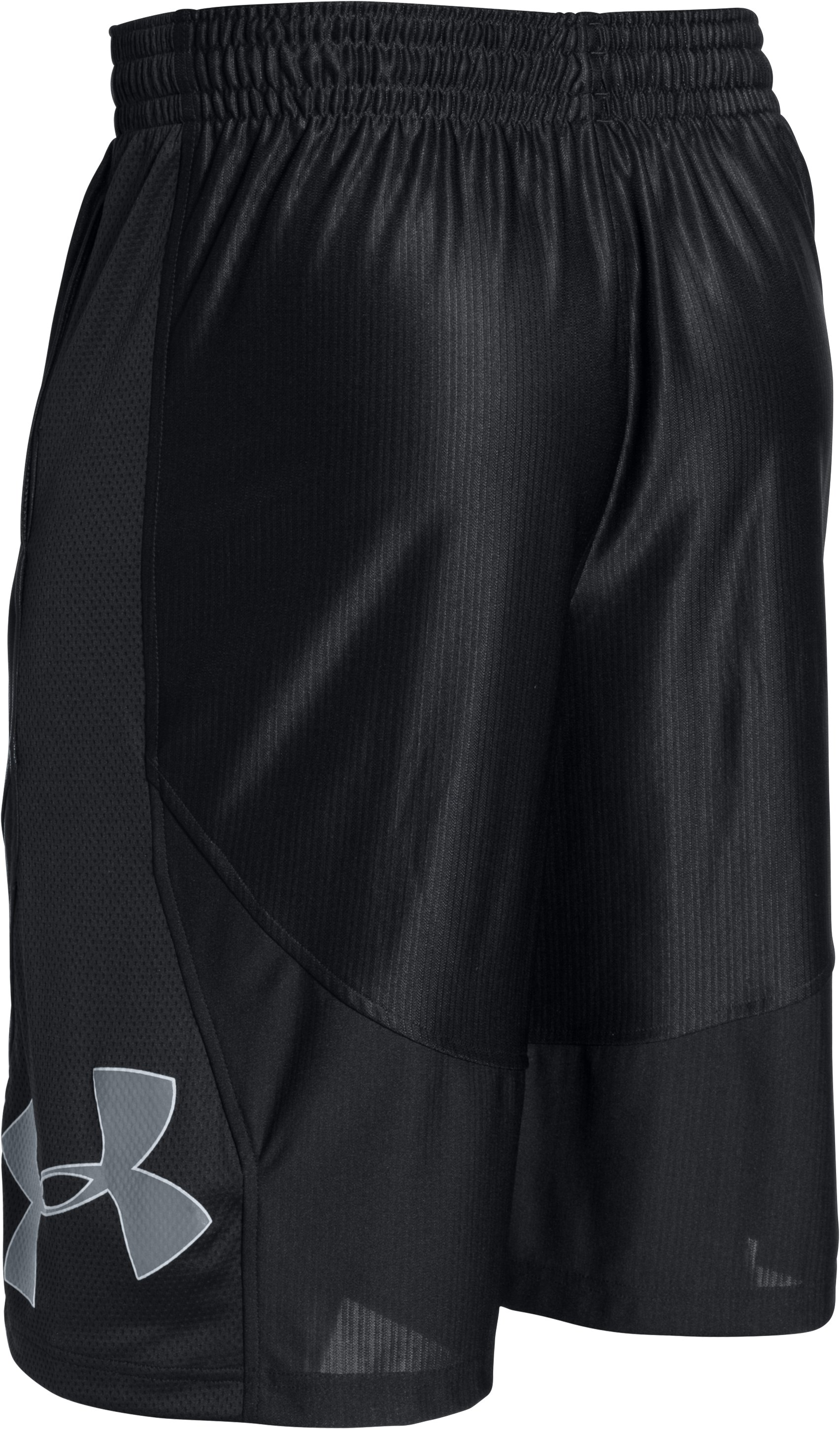 Men's UA Mo' Money Basketball Shorts, Black