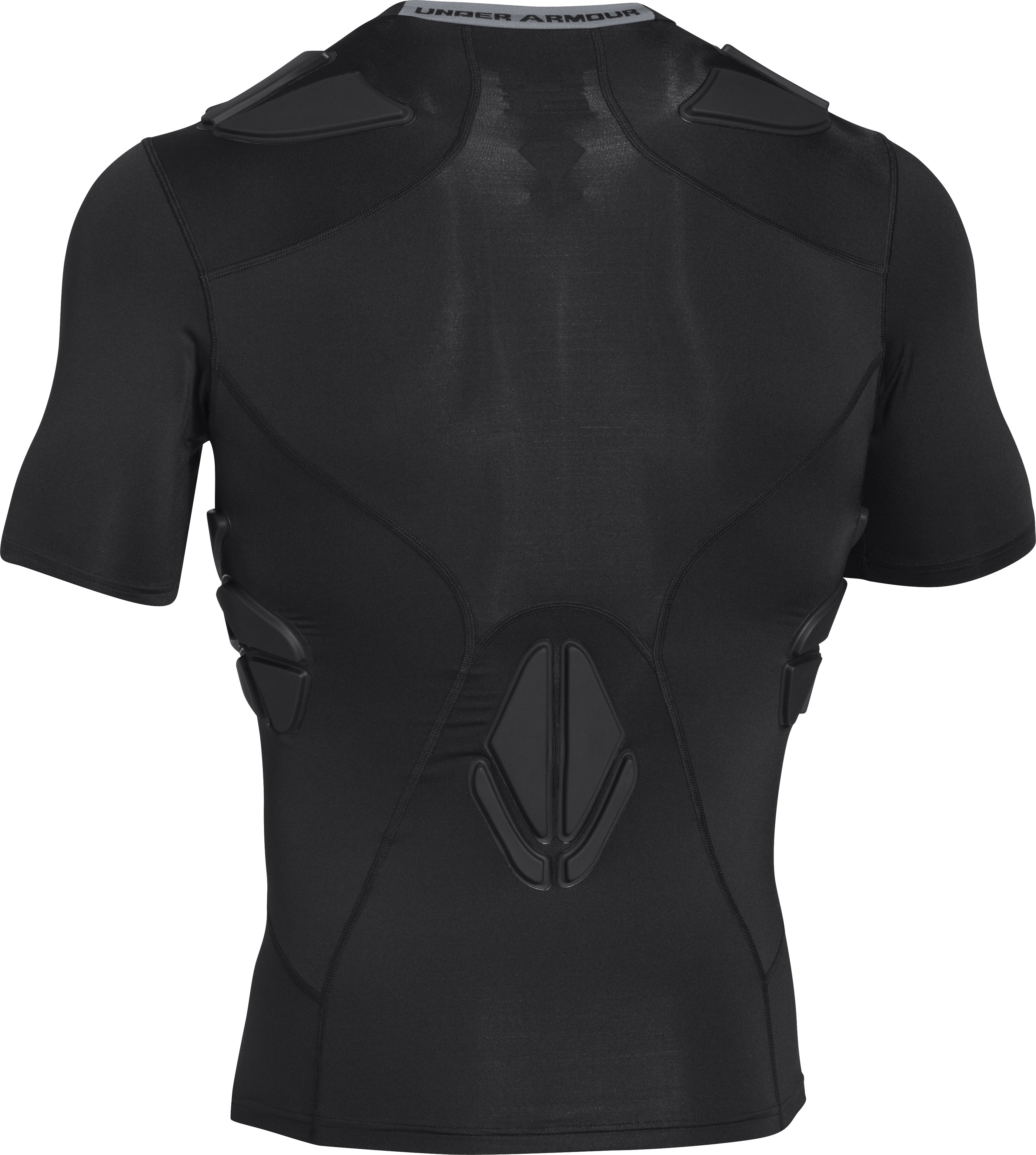 Men's Under Armour® Alter Ego Padded Football Compression Shirt, Black , undefined