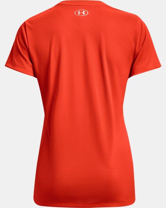 Women's UA Tech™ V-Neck, Orange, pdpMainDesktop image number 5