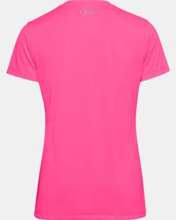 Maglia con collo a V UA Tech™ da donna, Pink, pdpMainDesktop image number 7