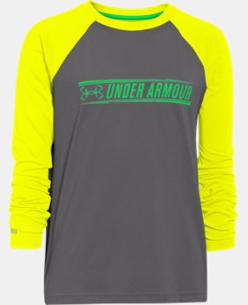 Boys' UA Iso-Chill Element Long Sleeve Shirt  1 Color $20.99