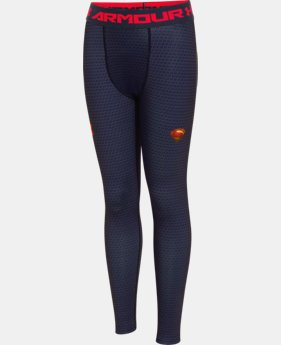 Boys' Under Armour® Alter Ego Superman Fitted Leggings  1 Color $36.99