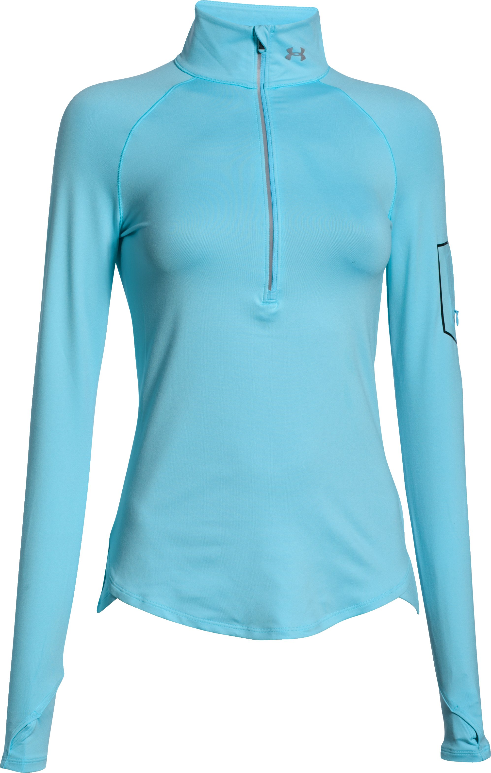 Women's UA Fly Fast 1/2 Zip, SKY BLUE