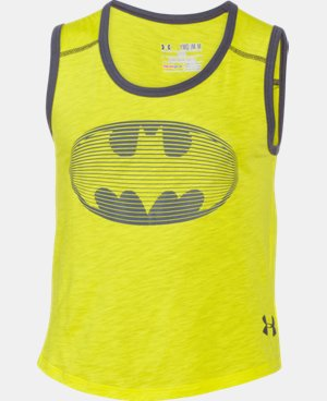 Girls' Under Armour® Alter Ego Batgirl Muscle Tank LIMITED TIME: FREE U.S. SHIPPING 1 Color $17.99