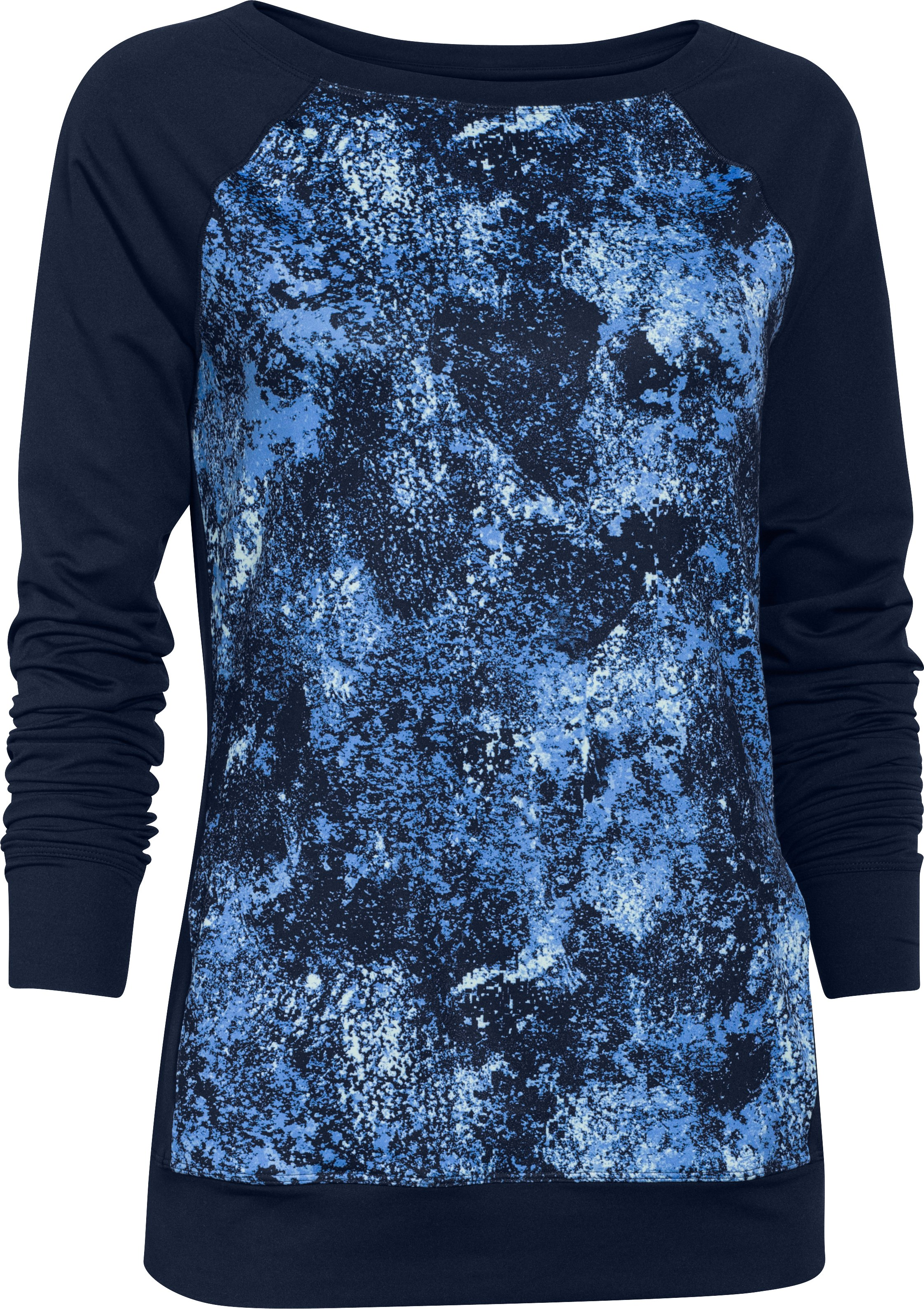 Women's UA Take-A-Chance Printed Crew, Academy,