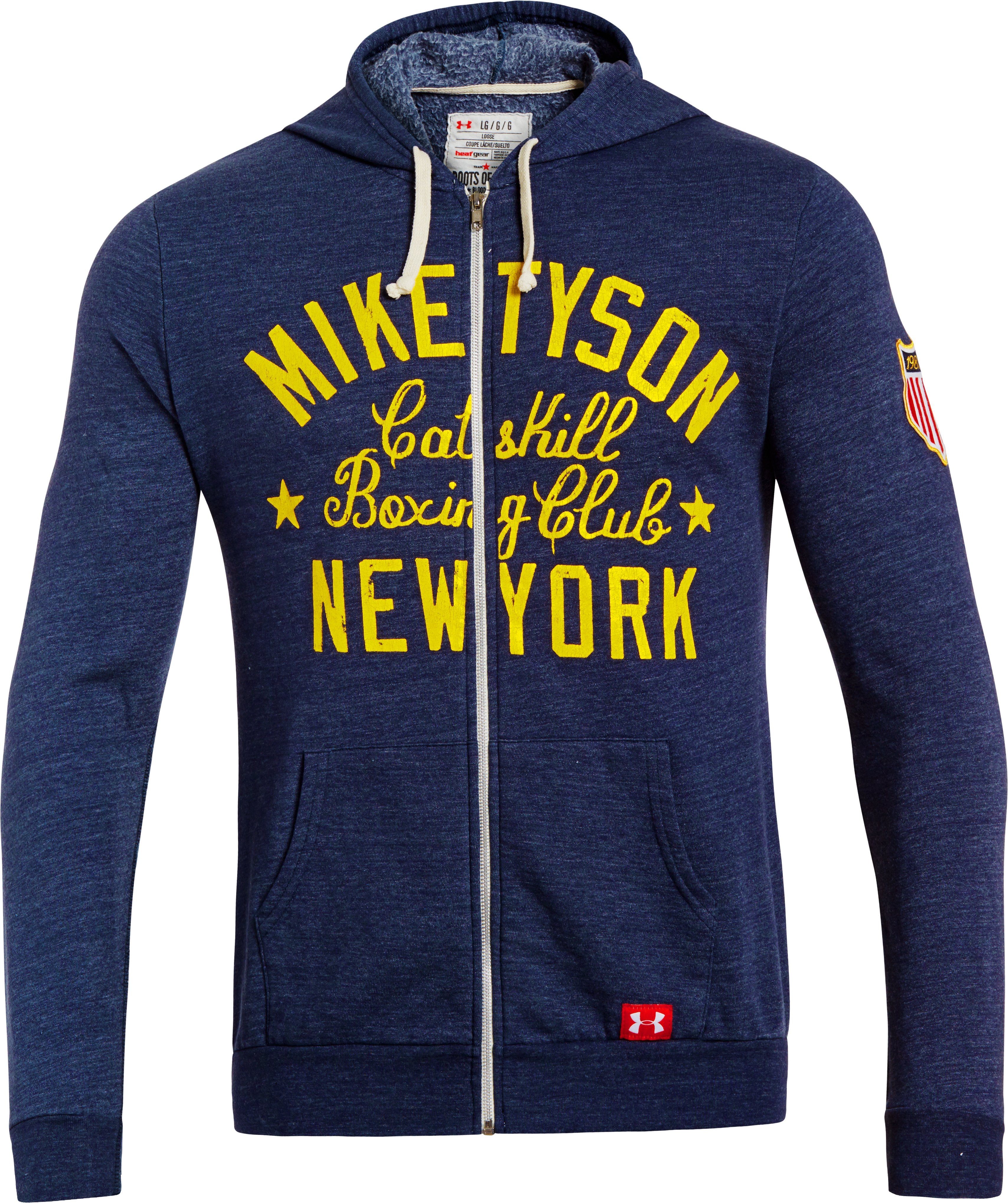 Men's Roots Of Fight™ Mike Tyson Kid Dynamite Hoodie, Midnight Navy, undefined