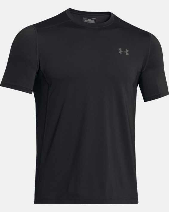 Men's UA Raid Short Sleeve T-Shirt, Black, pdpMainDesktop image number 9