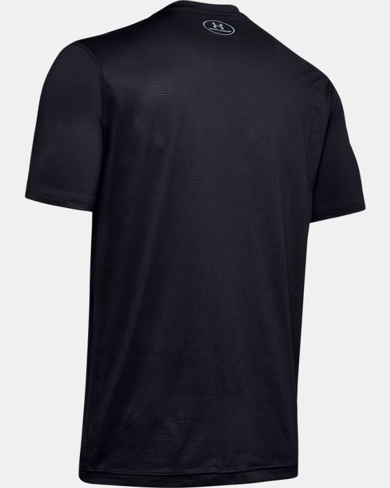 Men's UA Raid Short Sleeve T-Shirt, Black, pdpMainDesktop image number 7