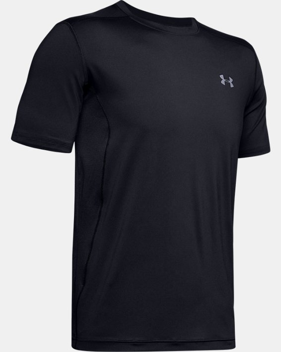 Men's UA Raid Short Sleeve T-Shirt, Black, pdpMainDesktop image number 6