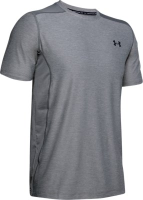 Under Armour HeatGear Fitted Raid Graphic Short Sleeve Shirt Men T-Shirt 1292648