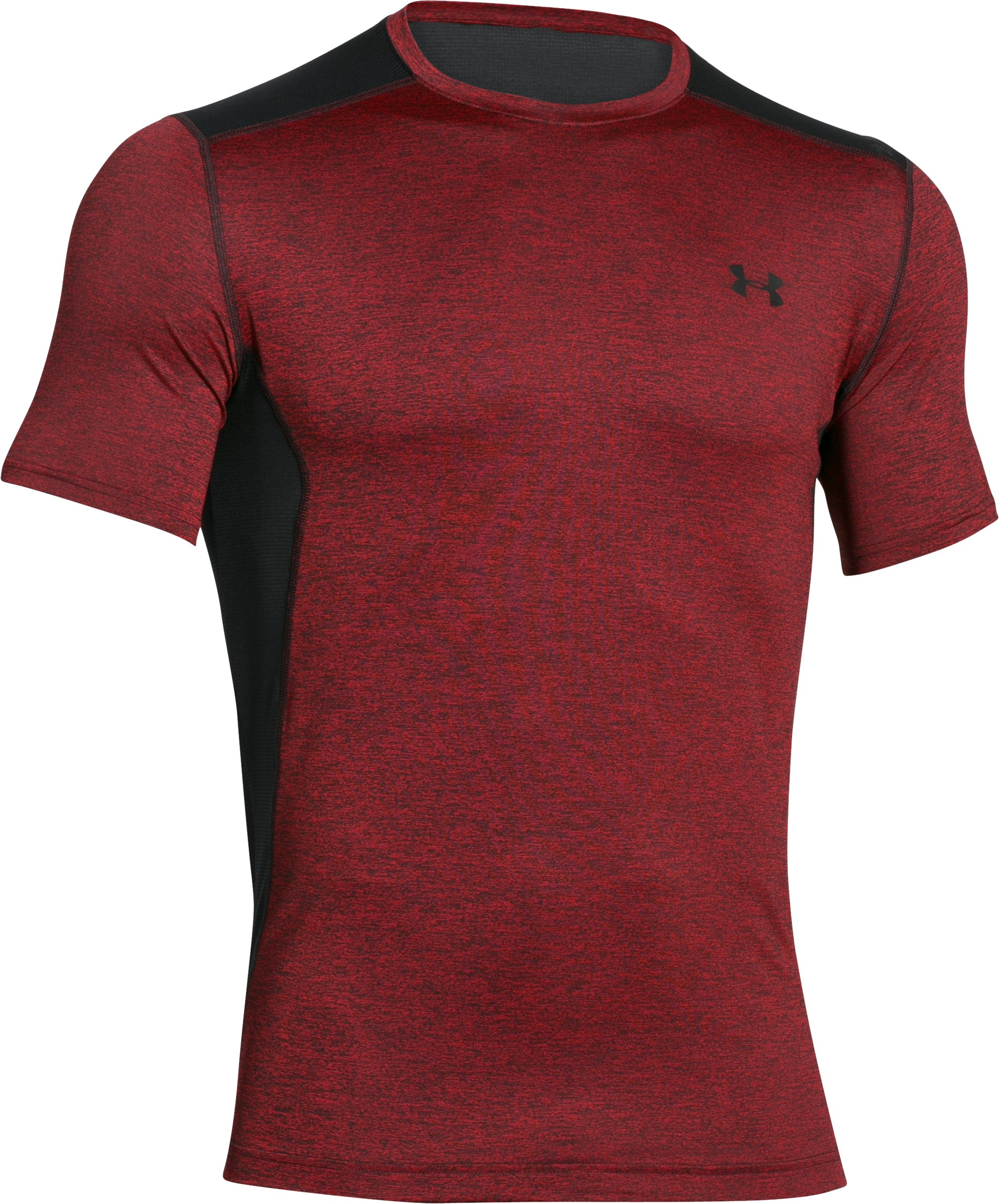 Men's UA Raid Short Sleeve T-Shirt, Red