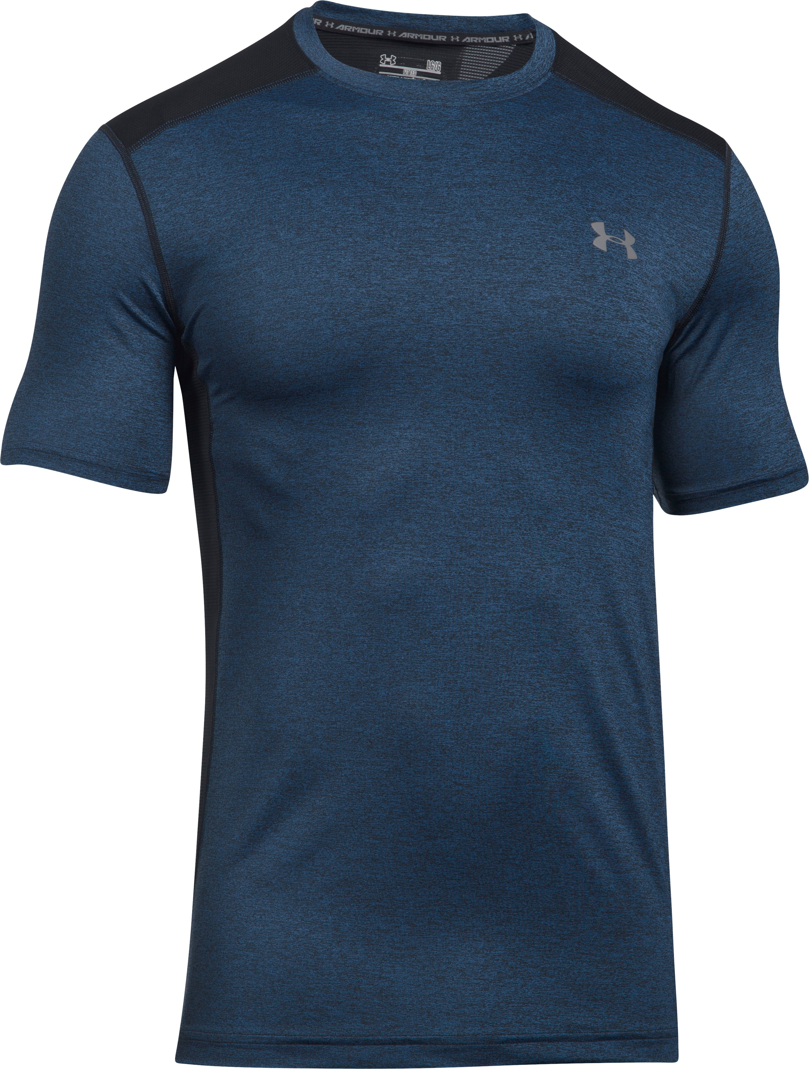 Men's UA Raid Short Sleeve T-Shirt, MAKO BLUE,