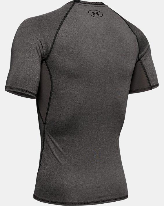 T-shirt Compression UA HeatGear® Armour à manches courtes pour homme, Gray, pdpMainDesktop image number 5
