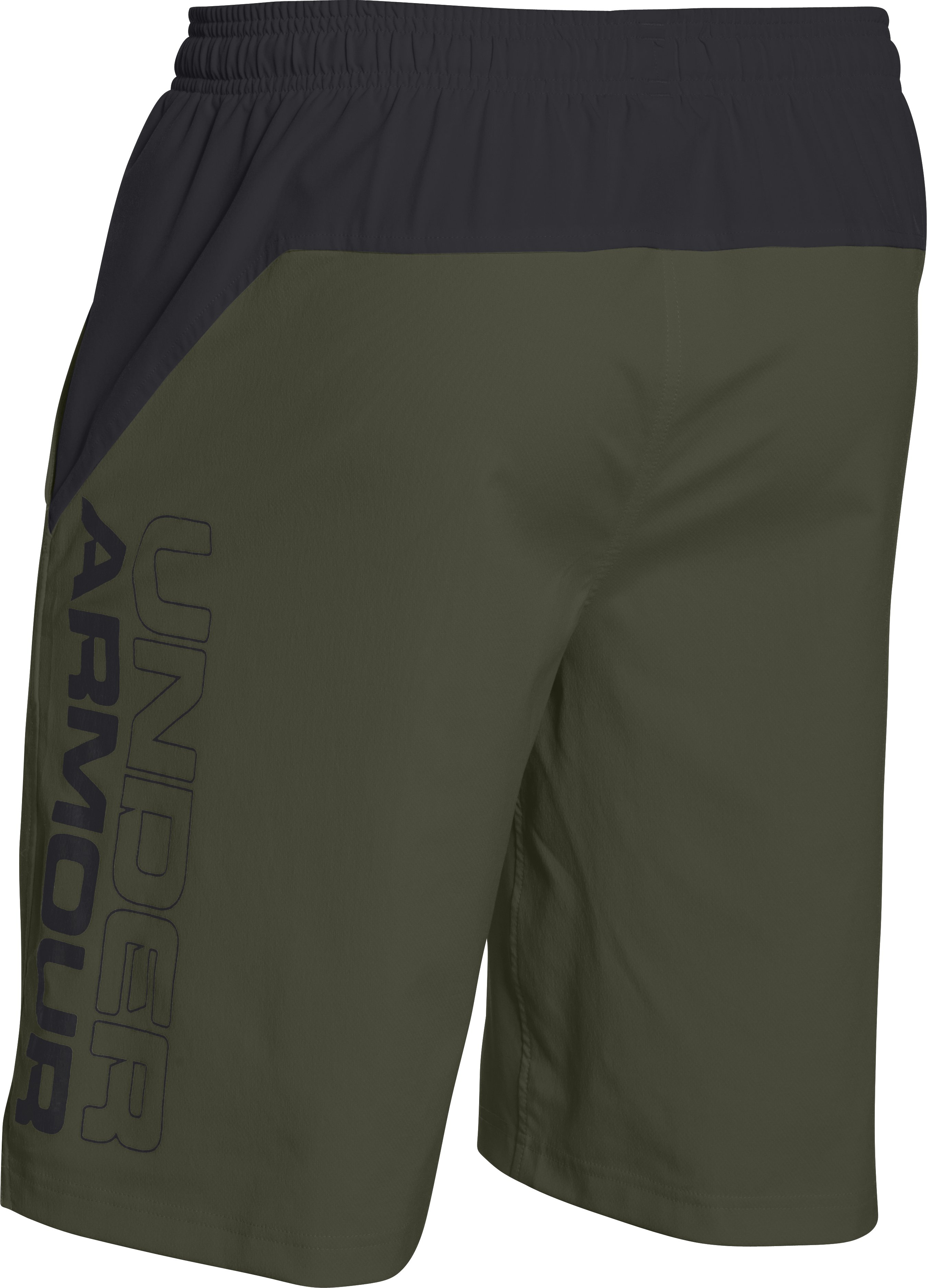 Men's UA HIIT Woven Shorts, Rough, undefined
