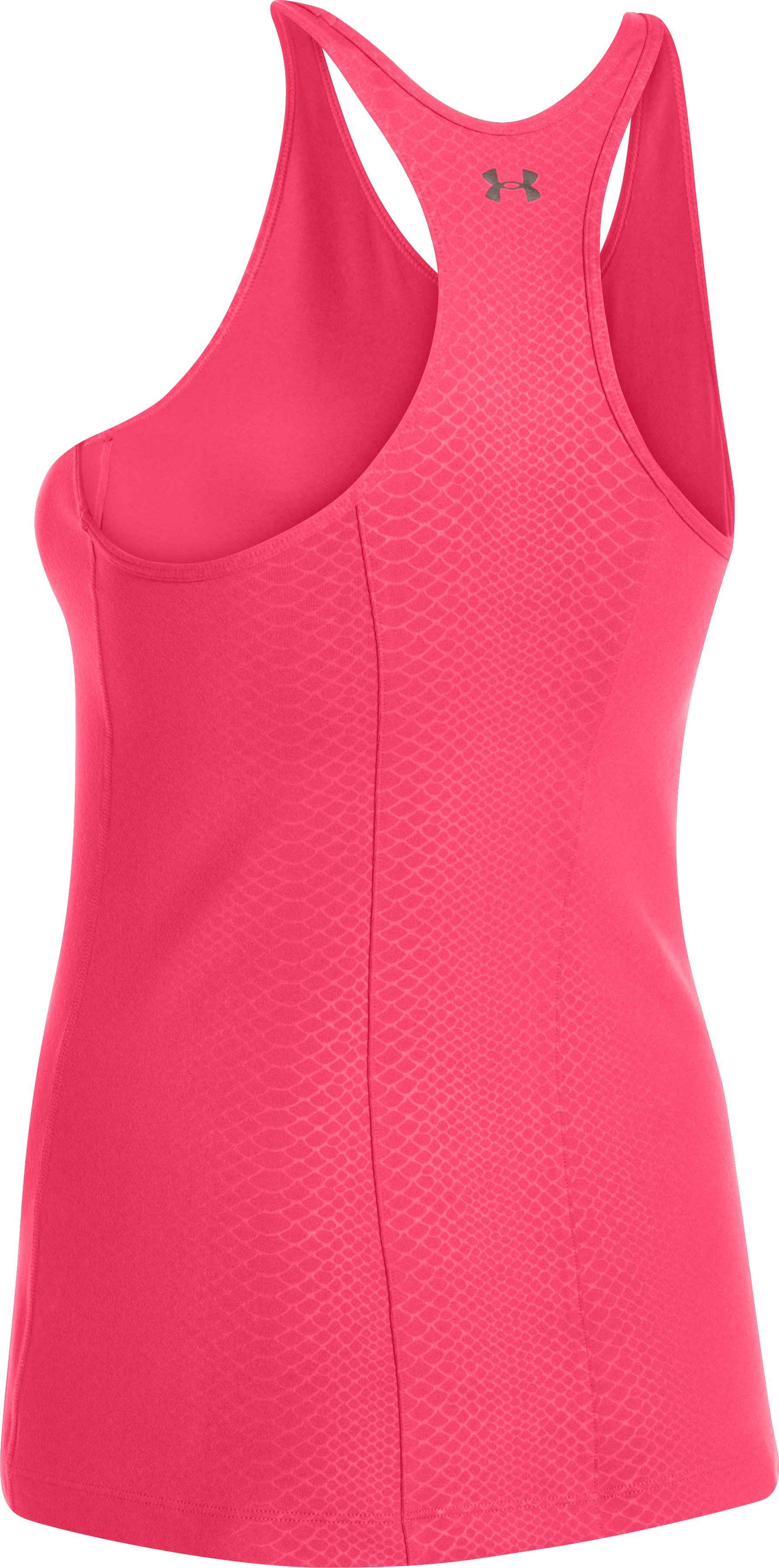 Women's UA Take-A-Chance Printed Tank, PINK SHOCK,